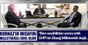 Başkan Kurnaz'ın Misafiri Milletvekili Erol Oldu