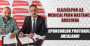 Elazığspor İle Medical Park Hastanesi Arasında Sponsorluk Protokolü İmzalandı