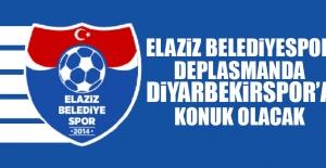 Elaziz Belediyespor Deplasmanda Diyarbekirspor'a Konuk Olacak
