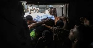 Gazze Şehidi Son Yolculuğuna Uğurlandı