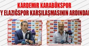 Kardemir Karabükspor TY Elazığspor Karşılaşmasının Ardından