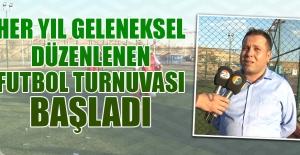 Kuzova Derneği Futbol Turnuvası Başladı
