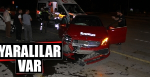 Orman Bölge Müdürlüğü Önünde Trafik Kazası