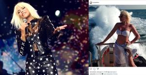 Süperstar Ajda Pekkan'ın Beyaz Bikinili Tatil Pozu Büyük Beğeni Aldı