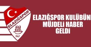 Tetiş Yapı Elazığspor Kulübüne Müjdeli Haber Geldi