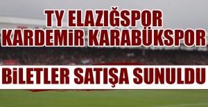 TY Elazığspor - Kardemir Karabükspor Maçı Biletleri