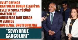 Vali Murat Zorluoğlu Elazığ'a Geldi