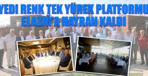 Yedi Renk Tek Yürek Platformu Elazığ'a Hayran Kaldı