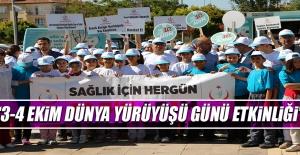 """""""3-4 Ekim Dünya Yürüyüşü Günü Etkinliği"""""""