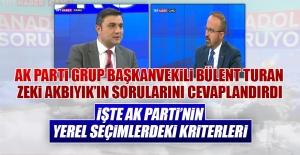 Anadolu Soruyor'un Konuğu Bülent Turan Oldu