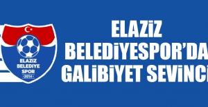 Elaziz Belediyespor'da Galibiyet Sevinci