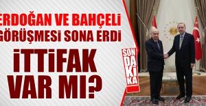 Erdoğan Ve Bahçeli Görüşmesi Sona Erdi İttifak Var Mı?