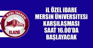İl Özel İdare – Mersin Üniversitesi Karşılaşması