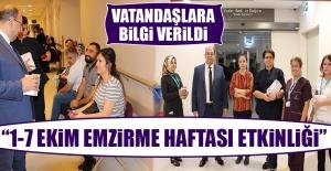 İl Sağlık Müdürlüğünden 1-7 Ekim Emzirme Haftası Etkinliği