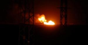 İran'da doğal gaz boru Hattında Patlama