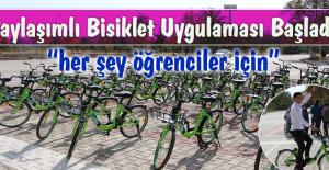 Kampüste Paylaşımlı Bisiklet Uygulamasını...