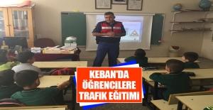 Keban'da Öğrencilere Trafik Eğitimi