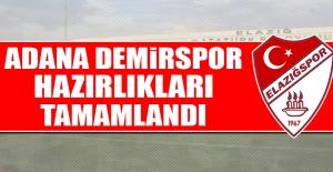 TY Elazığspor'da A. Demirspor Hazırlıkları Tamamlandı