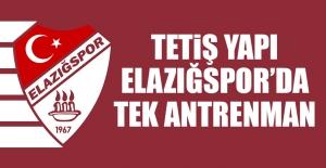 TY Elazığspor'da Gazişehir Hazırlıkları Devam Etti