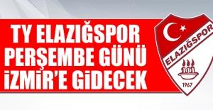 TY Elazığspor Perşembe Günü İzmir'e Gidecek