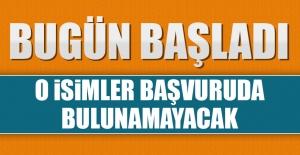 AK Parti'de Adaylık Başvuru Süreci Bugün Başladı