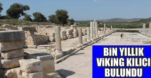 Antalya'nın Kaş İlçesinde 1000 Yıllık Viking Kılıcı Bulundu