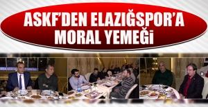 ASKF'den Elazığspor'a Moral Yemeği