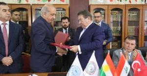 Batman ve Diyarbakırlı iş insanları Irak'ta iş birliği protokolü imzaladı