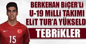 Berkehan Biçer'li U-19 Milli Takımı Elit Tur'a Yükseldi