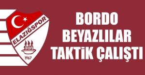 Bordo-Beyazlılar, Osmanlıspor İçin Taktik Çalıştı