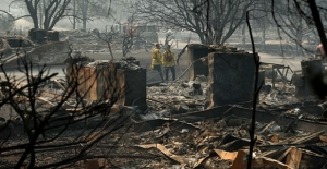 California'daki yangın felaketinde ölü sayısı 74'e yükseldi