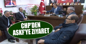 CHP'den ASKF'ye Ziyaret
