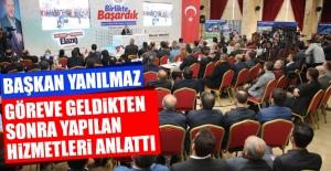 Elazığ Belediye Başkanı Yanılmaz,...