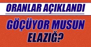 Elazığ'dan Yurtdışına Kaç Kişi Göç Etti?