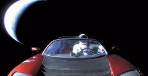 Elon Musk'ın Uzaya Yolladığı Tesla Roadster Mars'a Ulaştı