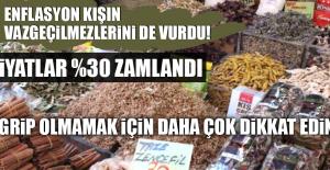 ENFLASYON KIŞIN VAZGEÇİLMEZLERİNİ DE...