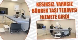 Fethi Sekin Şehir Hastanesi'nde Taş Kırma Merkezi Hizmete Girdi