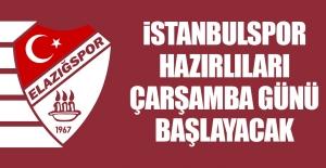 İstanbulspor Hazırlıları Çarşamba Günü Başlayacak