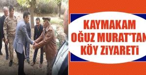Kaymakam Murat'tan Köy Ziyareti