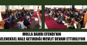 Molla Bahri Efendi'nin Geleneksel Hale Getirdiği Mevlit Devam Ettiriliyor