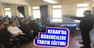 Öğrencilere Trafik Eğitimi Verildi