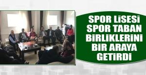 Spor Lisesi, Spor Taban Birliklerini Bir Araya Getirdi