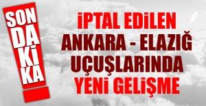 THY'nin Ankara Elazığ Uçuşları Artırıldı