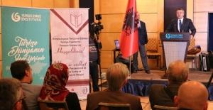 Tiran'da, Türkçe'den Arnavutça'ya tercüme edilen eserler tanıtıldı