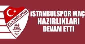 TY Elazığspor'da İstanbulspor Maçı Hazırlıkları Devam Etti