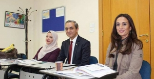 Ürdünlü Prenses Rahme bint el-Hasan Türkçe öğreniyor
