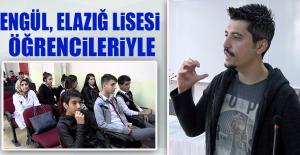 Yazar Serkan Şengül, Elazığ Lisesi Öğrencileriyle Bir Araya Geldi
