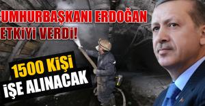 1500 KİŞİ İŞE ALINACAK