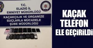 17 Adet Kaçak Telefon Ele Geçirildi
