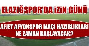 Afjet Afyonspor Maçı Hazırlıkları Ne Zaman Başlayacak?